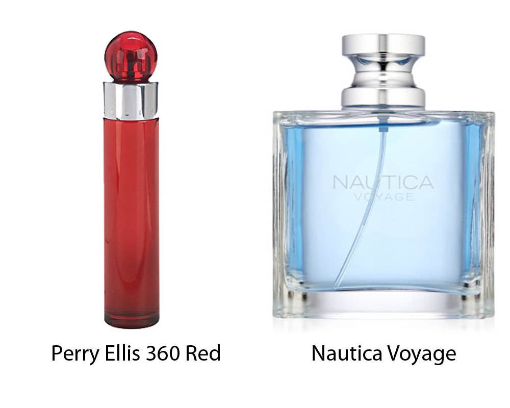 Perry Ellis 360 Red vs Nautica Voyage 1