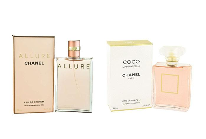 Chanel Allure Vs Coco Mademoiselle Fragrancewar